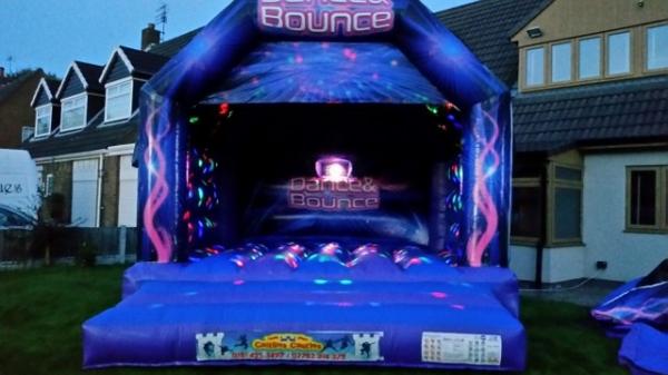 Bouncy Castle Hire Liverpool Gt Disco Party Castle